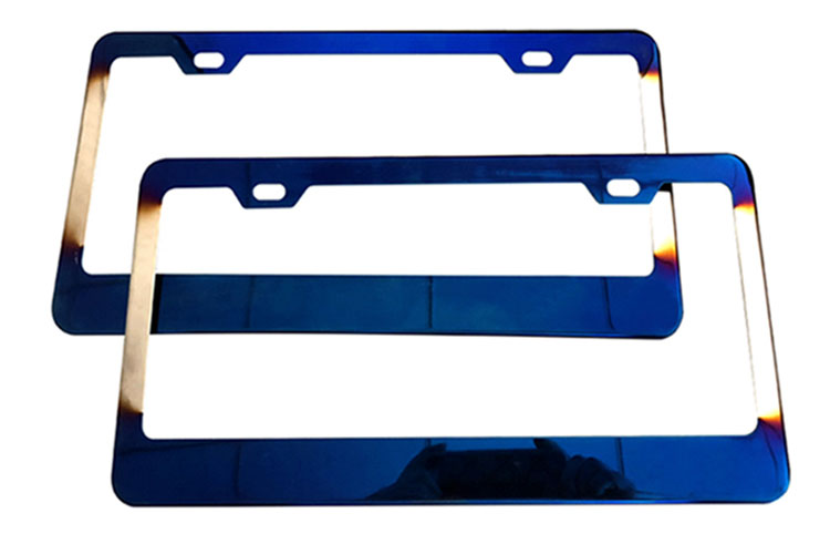 Novelty license plate frame with wholesale price