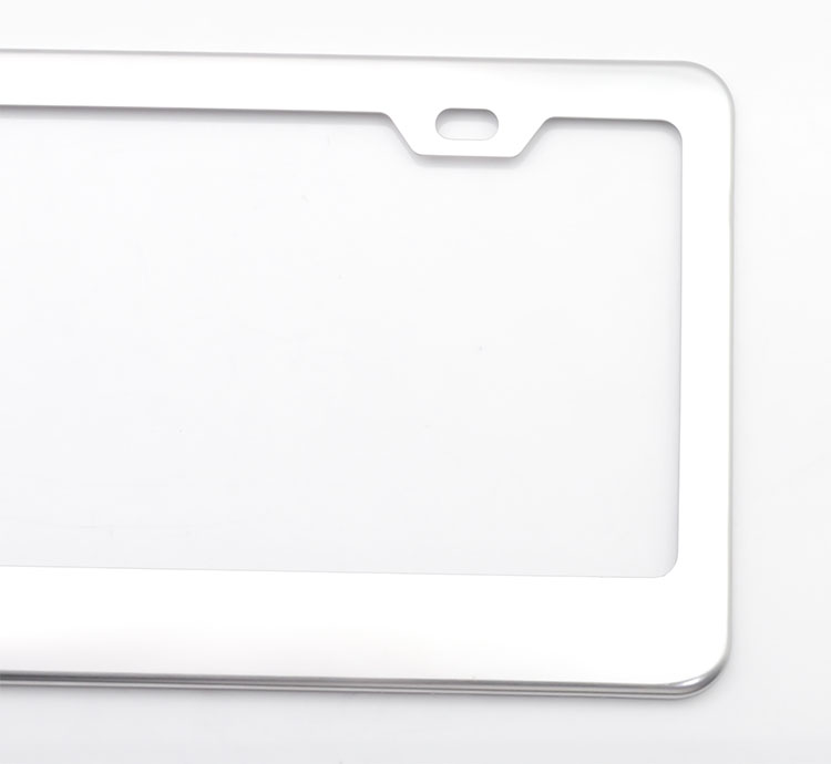 Toyota license plate frame made in China